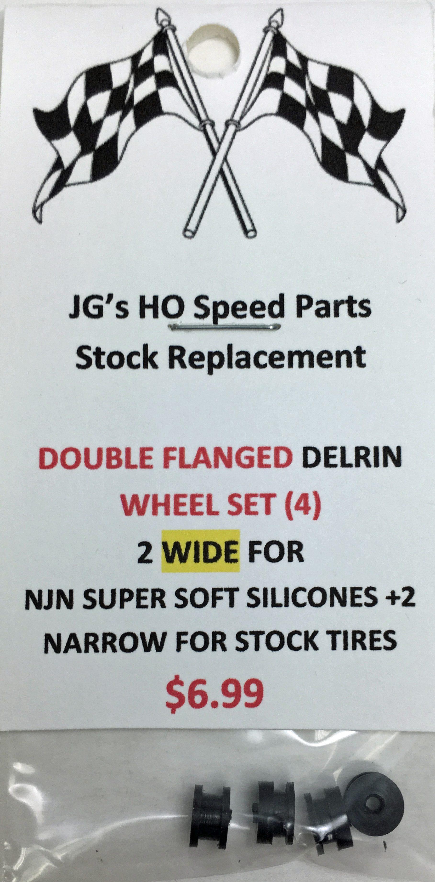WIDE-NARROW WHEEL SETS