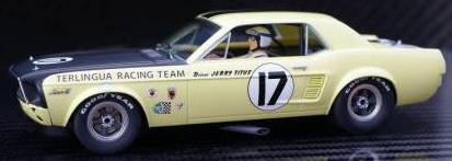 #17 MUSTANG YELLOW NOTCHBACK