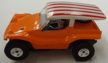 Orange Dune Buggy