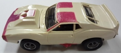 White and Pink Javelin
