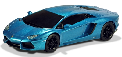 c3264. LAMBORGHINI AVENTADOR BLUE