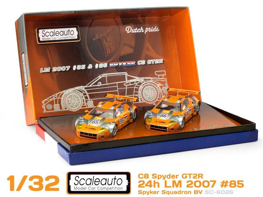 SC-6026-2 spyker two car set