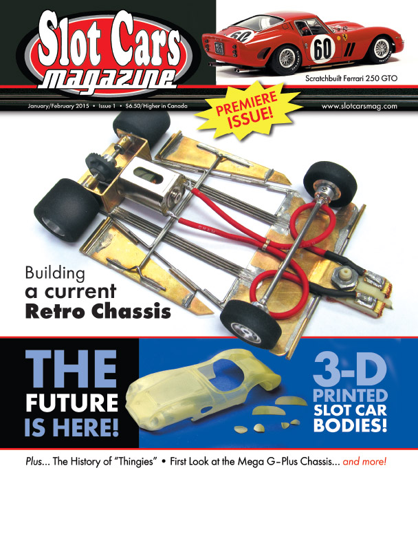 slot cars magazine v1n1